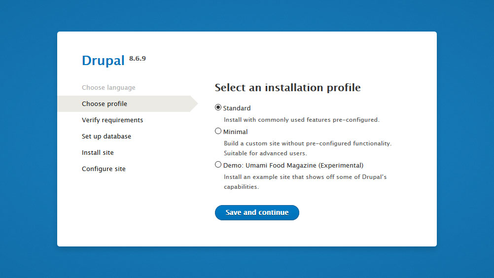 What is the Installation Process of Drupal (A CMS)