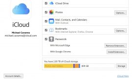 Windows clients can manage their iCloud Passwords